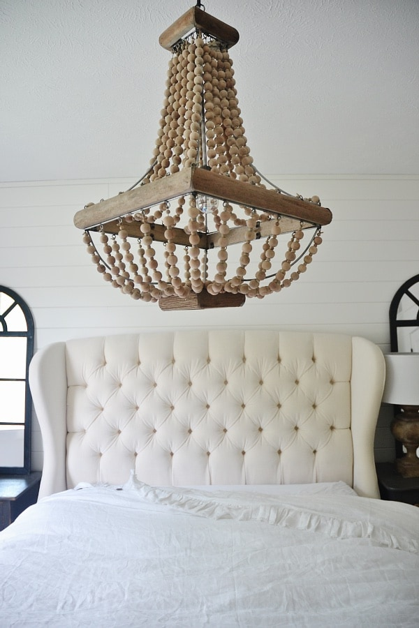 Master bedroom makeover chandelier liz marie blog my heart skips a beat when i look at it i finally got my chandelier ps for all you fan lovers i love a good ceiling fan too aloadofball Image collections