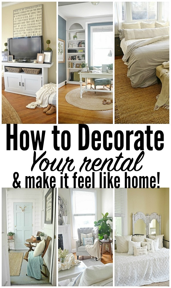 How to decorate your rental liz marie blog - Home decor rental collection ...