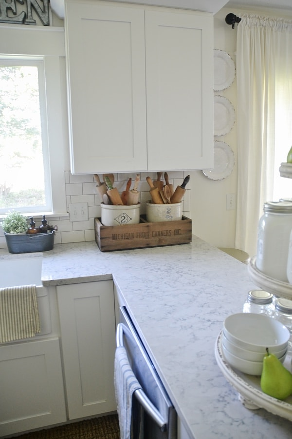 Fancy We love our quartz countertops u have no regrets about them at all Of course there are other great countertop options u I um not putting any of them down