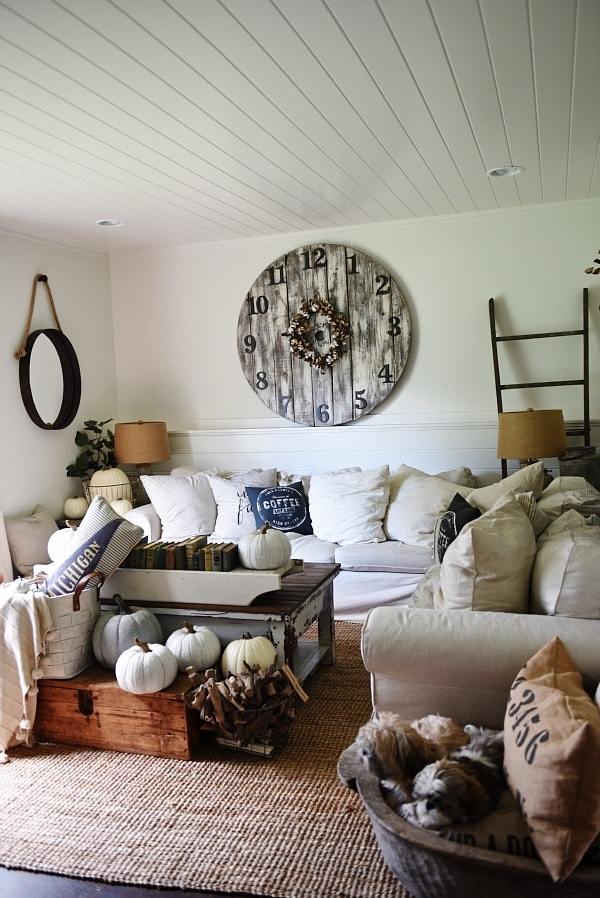 dining chairs at marshalls what size round table for 6 neutral fall decor sources - liz marie blog