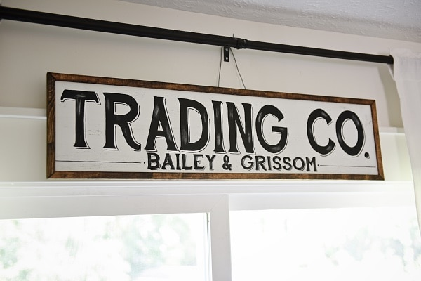 Rustic Dining Room Sign
