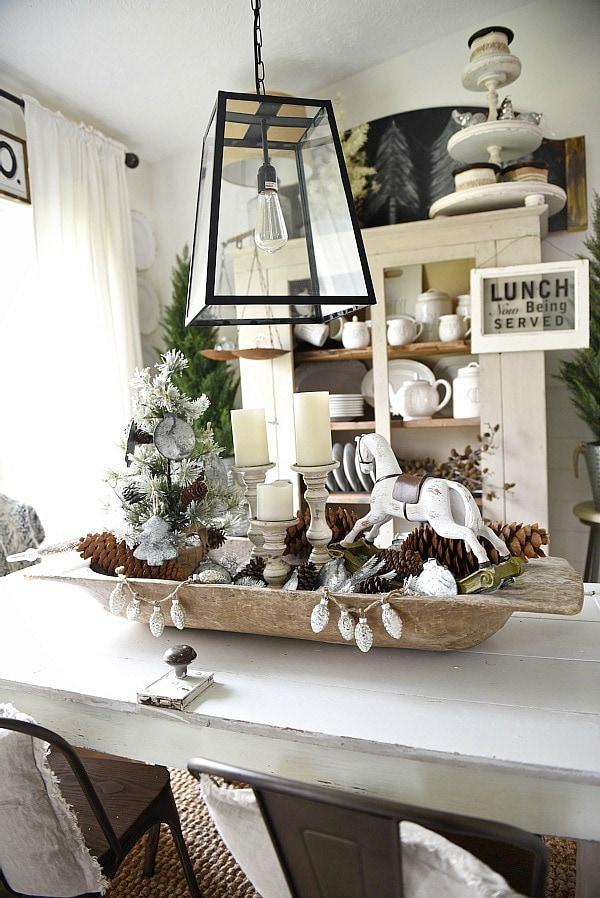 Christmas Dough Bowl Centerpiece Liz Marie Blog