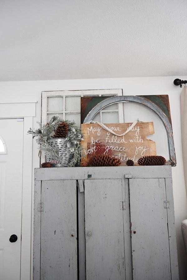 Cozy Rustic Winter Living Room Liz Marie Blog
