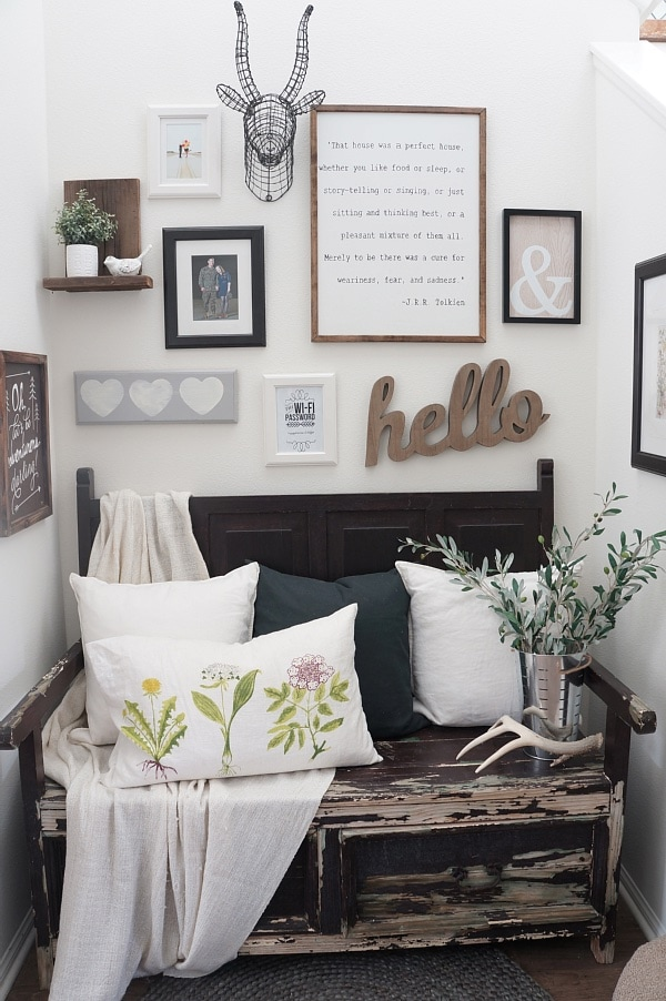 Cozy Cottage Home Tour   Come Tour This Lovely Cozy Cottage Filled With  Neutral U0026 Rustic