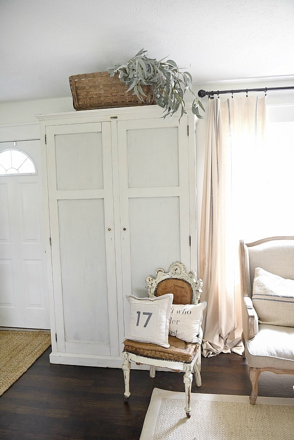 Entryway Armoire - Liz Marie Blog