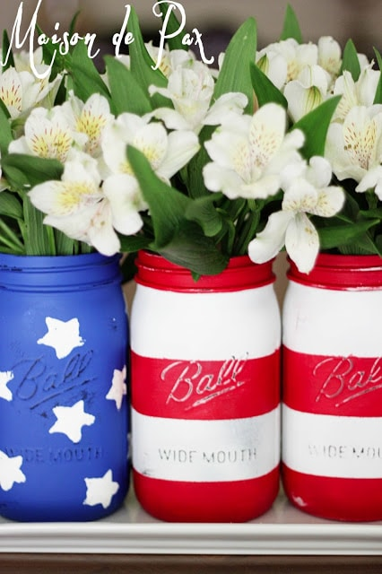 flag jars vertical