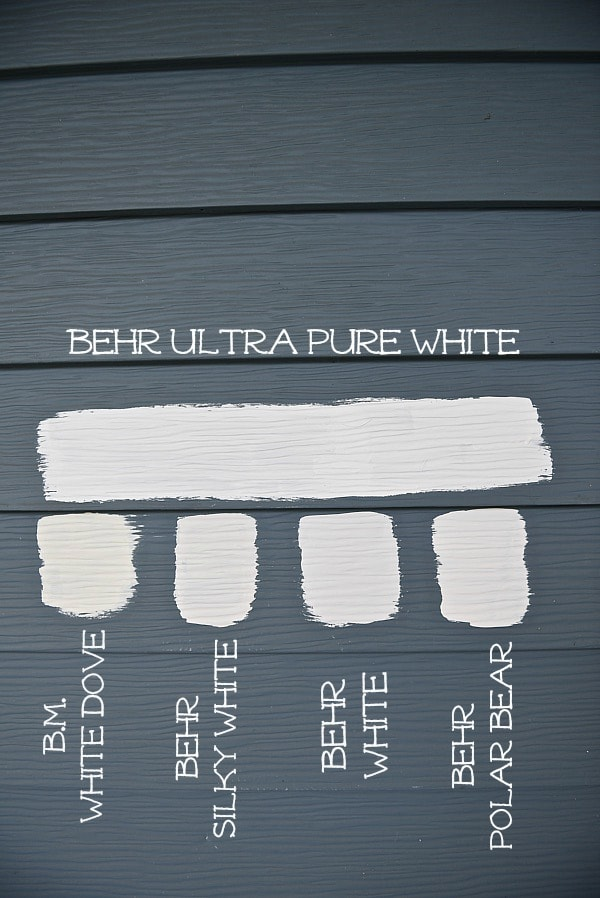 exterior white paintWe Are Painting The Farmhouse  Liz Marie Blog