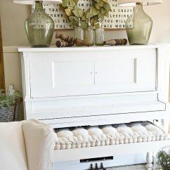 Want To Decorate My Living Room Wall Design Piano Decor - Farmhouse Liz Marie Blog