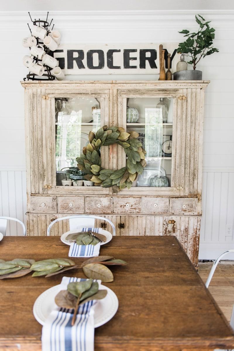 Primitive Dining Room Hutch & Primitive Dining Room Hutch - Liz Marie Blog