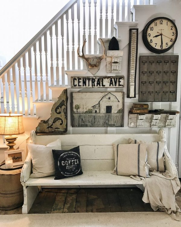 Farmhouse Cottage Wall Decor Ideas