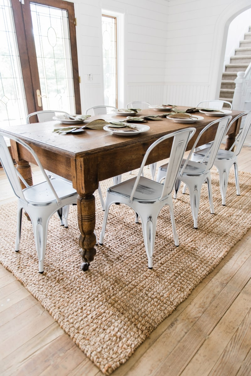 farmhouse dining chairs steelcase think chair review new liz marie blog the dinning