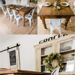 Farmhouse Dining Room Chairs Wicker Indoor New