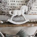 Christmas Rocking Horse Makeover Liz Marie Blog