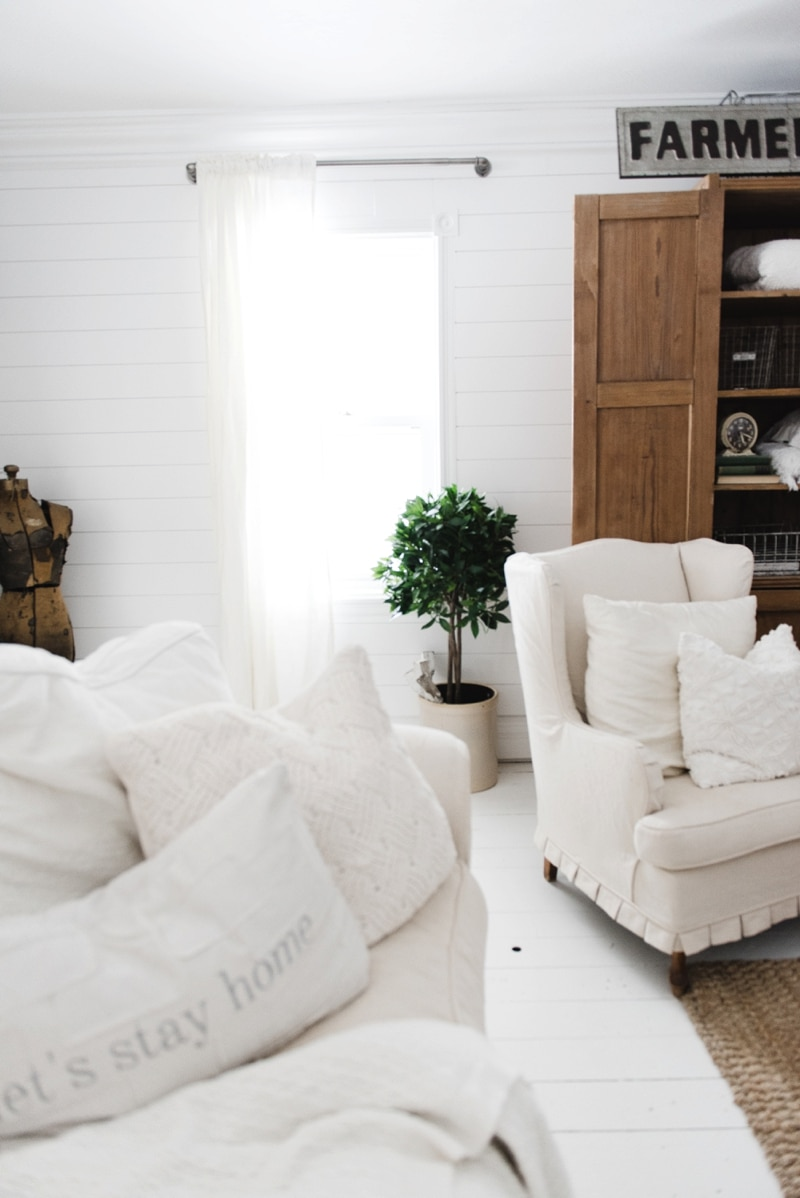 Affordable Industrial Farmhouse Pipe Curtain Rods - Liz Marie Blog