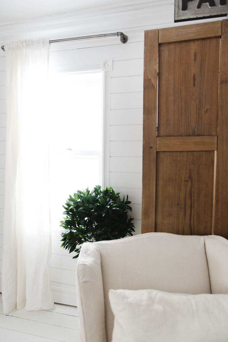 Affordable Industrial Farmhouse Pipe Curtain Rods Liz Marie Blog