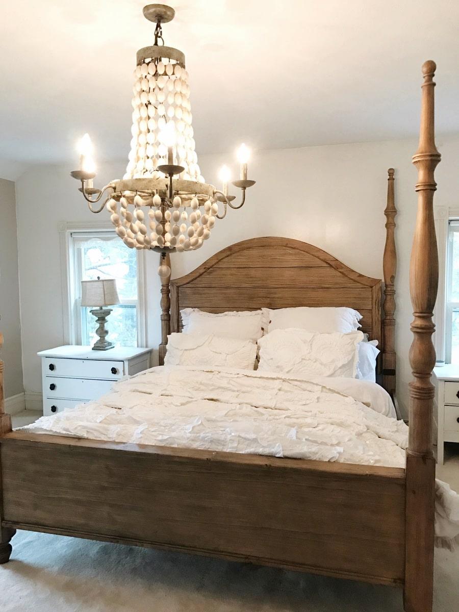 Master Bedroom Makeover Magnolia Bed