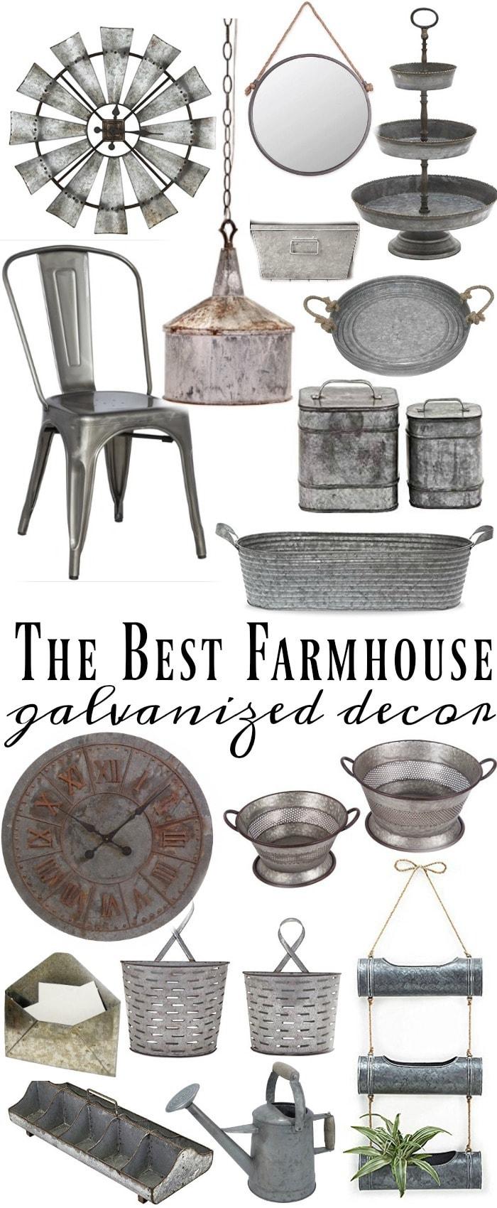 Where To Find The Best Galvanized Home Decor Liz Marie Blog