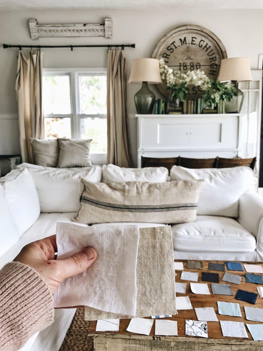 Ikea Sofa Slipcover Makeover