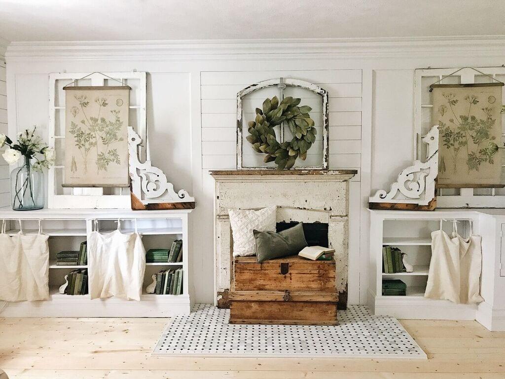 diy bookshelf curtains from ikea pillows liz marie blog