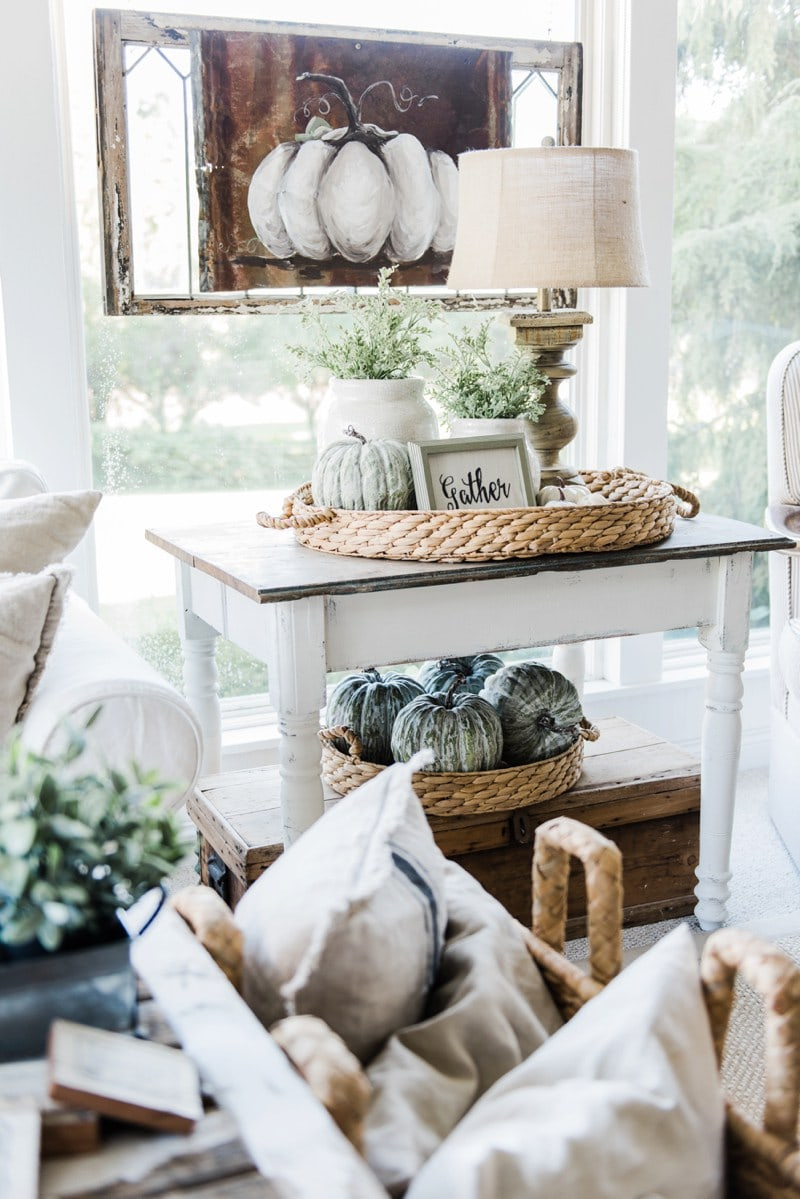 15 Lovely Farmhouse Style Fall Decor Ideas Liz Marie Blog