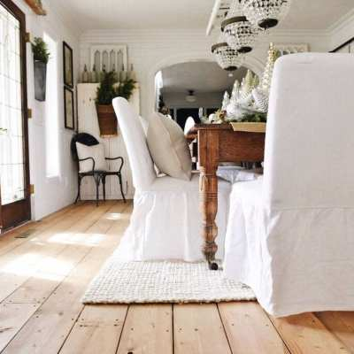 Farmhouse Style Ikea Slipcovers & A Giveaway