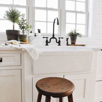 Our New Farmhouse Sink & Setup!!