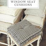 The Best French Mattress Window Seat Cushions Liz Marie Blog