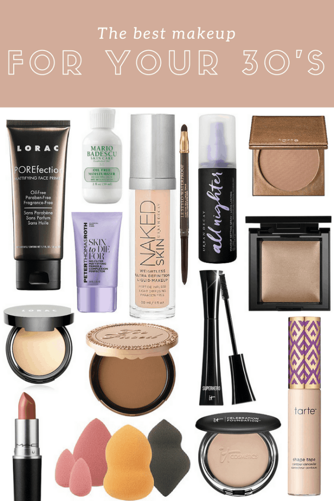 best makeup for your 30's