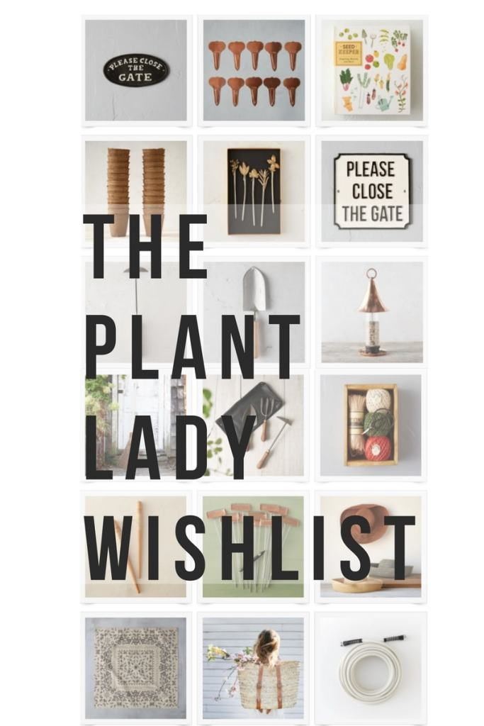 The Plant Lady Wishlist