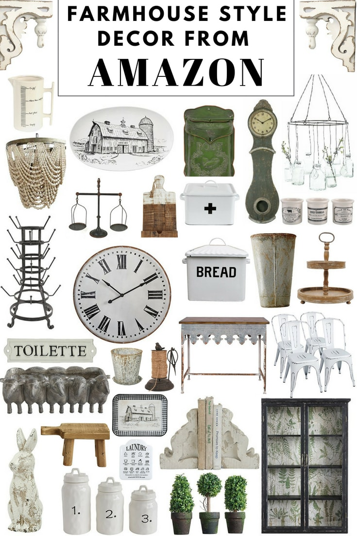 Affordable Farmhouse Decor From Amazon Liz Marie Blog