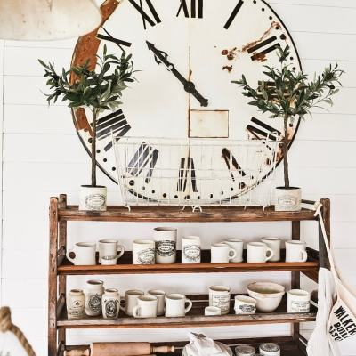 How to Age New Decor