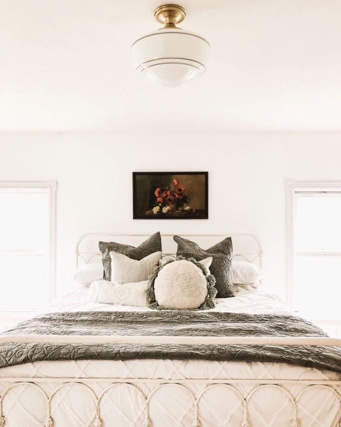 Master Bedroom Makeover New Bedroom Lights Liz Marie Blog