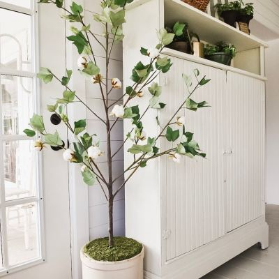 DIY Faux Potted Tree