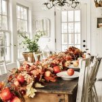 Simple Farmhouse Thanksgiving Tablescape Liz Marie Blog