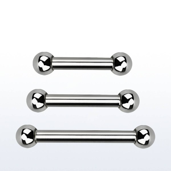 Surgical Steel Eyebrow or Helix Barbell