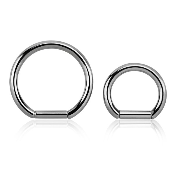 surgical steel segment ring