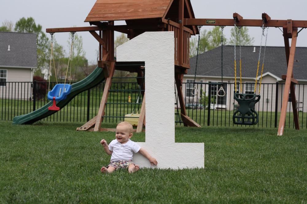 Happy First Birthday Ezra! | Ellie And Addie