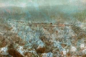 Chain: Digital collage © 2013 Liz Ruest