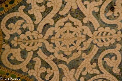 Mosaic tile detail
