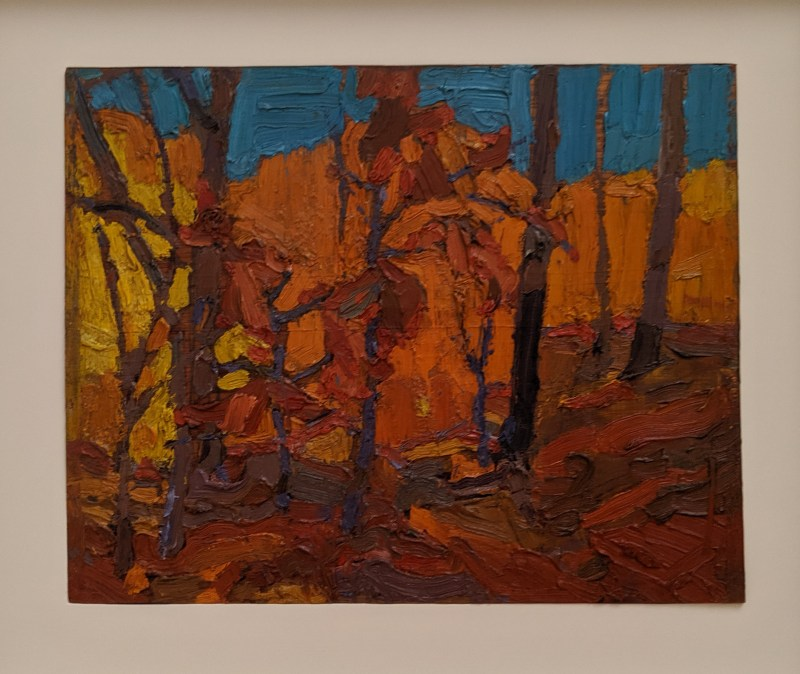 Tom Thomson: Autumn Woods, Algonquin Park,