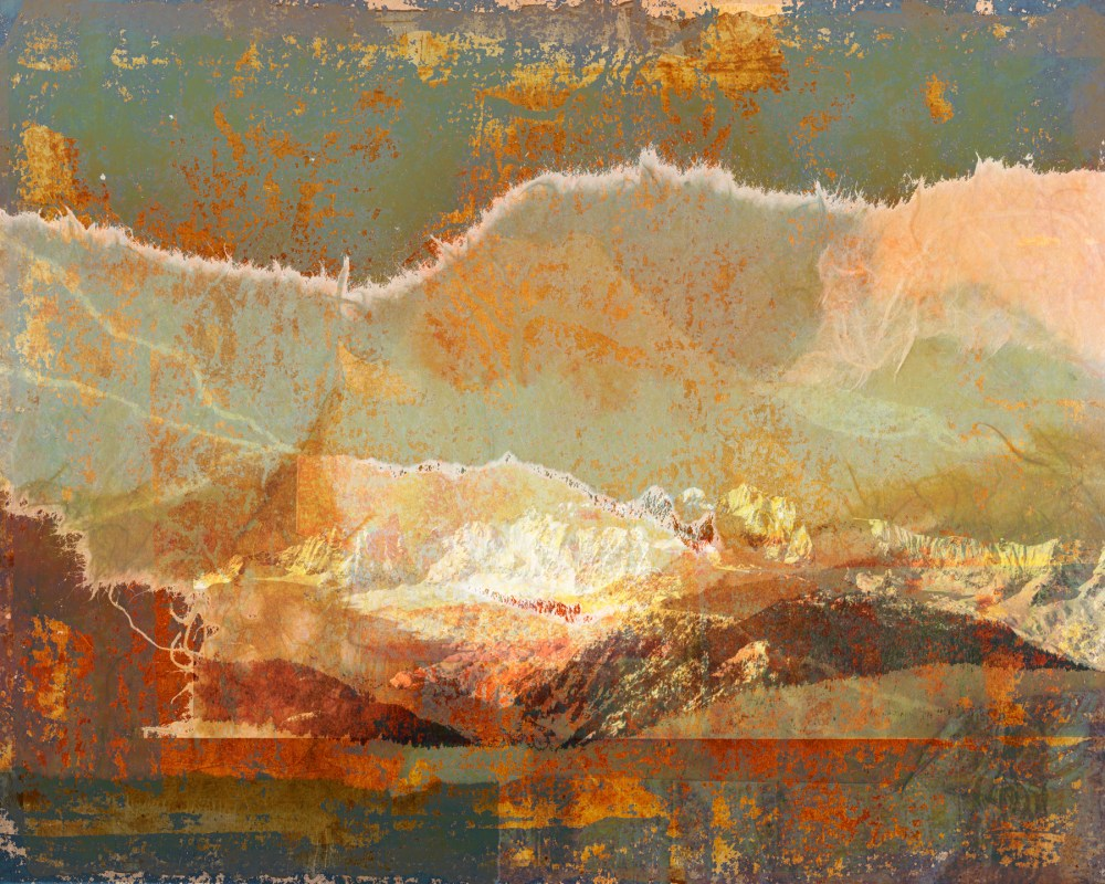 no safe paths in this part: Digital collage, 11 layers © 2020 Liz Ruest