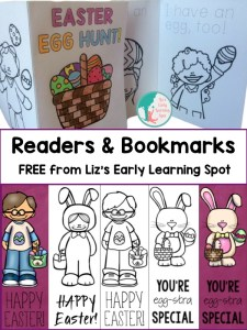 Easter Early Readers and Bookmarks