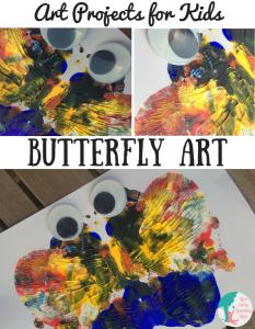 Art Projects for Kids: Butterfly Art