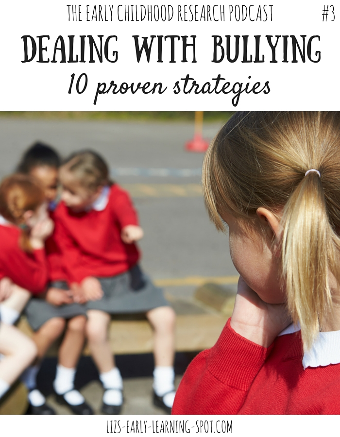 Learn how to deal effectively with bullying amongst young children