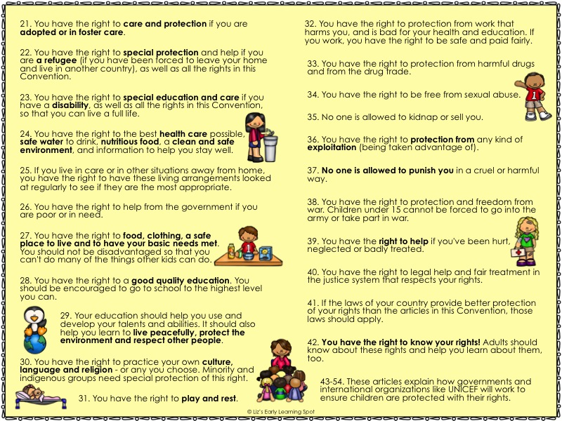 Part 2 of the rights of the child that you can download for free.