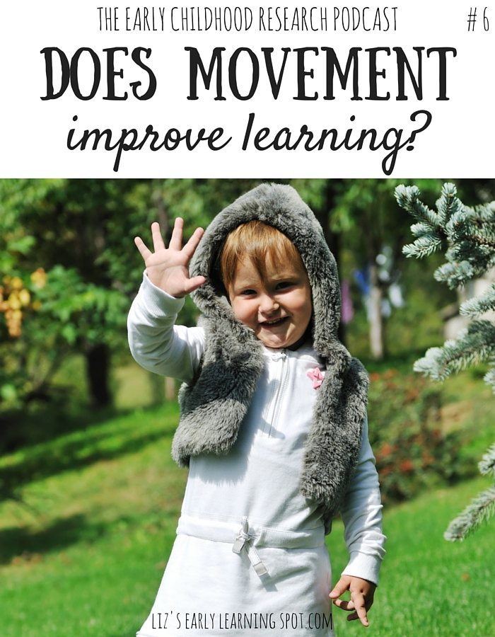 How can we use movement in our classrooms to help children learn?