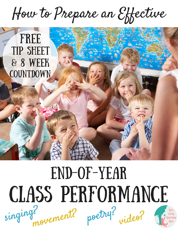 How to Prepare an Effective End-of-Year Class Performance