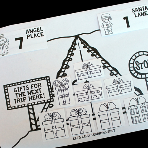 Have fun practicing Christmas addition to 15 with this free printable!