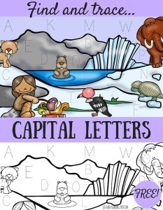 Find and Trace Capital Letters