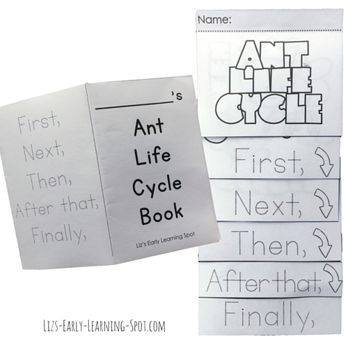 Let your kids improve their writing by working through these free ant life cycle activities!